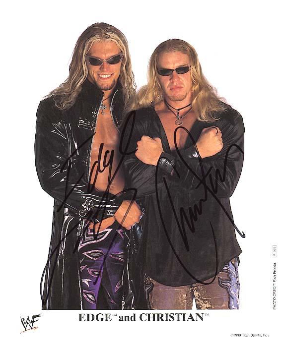 Por qué Vince McMahon prefirió a Edge por delante de Christian 1