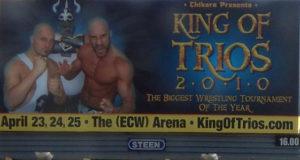 Resultados completos King of Trios 2010 de Chikara 3
