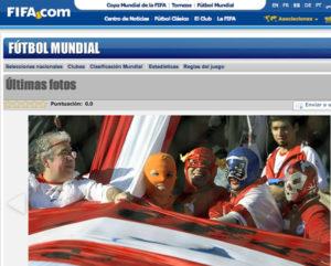 Máscaras de Blue Phanter y Dr. Wagner Jr. en Argentina 2
