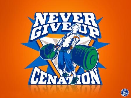 Never Give Up Cenation John Cena No Puede Perder En Over