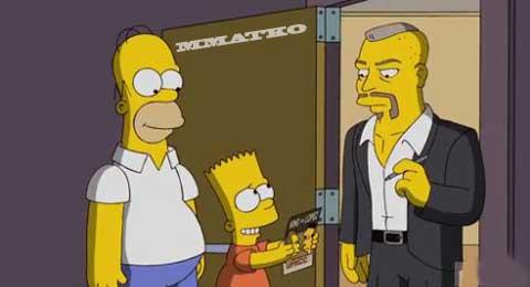 Bart Simpson is a Chuck Lidell fan | Superluchas