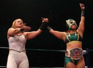 Princesa Sugey nueva campeona femenil de Pro Wrestling Revolution 4