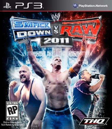 Portada WWE Smackdown vs RAW 2011