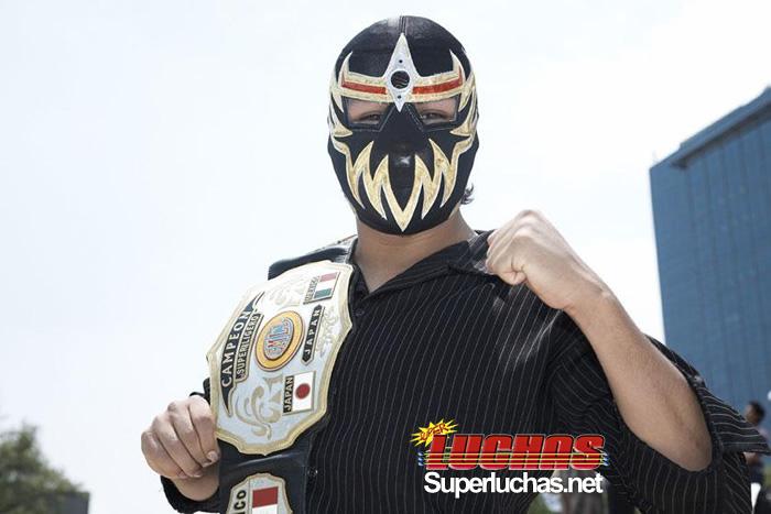 Máscara Dorada tetracampeón, un luchador de oro puro 1