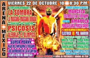 Previo Arena México (viernes 22 de Octubre) Revancha entre CMLL vs Invasores 5