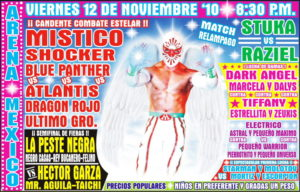 Previo Arena México (viernes 12 de noviembre) Místico vs Dragón Rojo Jr. una vez más- ¿Mr. Águila y Bucanero por las cabelleras? 1