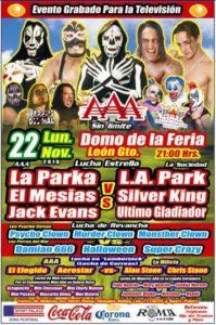 AAA en León Gto.(lunes 22 de noviembre) ¡El campeonato mini AAA en juego! 2