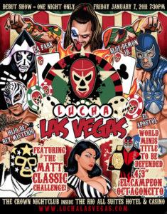Excelente poster de Lucha Las Vegas - Arranca actividades el 7 enero 2011 6