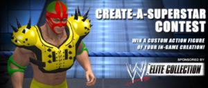 WWE Smackdown vs. RAW 2011: Concurso: Crear Una Superestrella