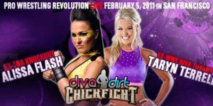 Pro Wrestling Revolution responde a las acusaciones de Tiffany (Taryn Terrell) 2