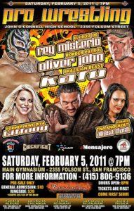 Pro Wrestling Revolution - 05 de Febrero de 2011