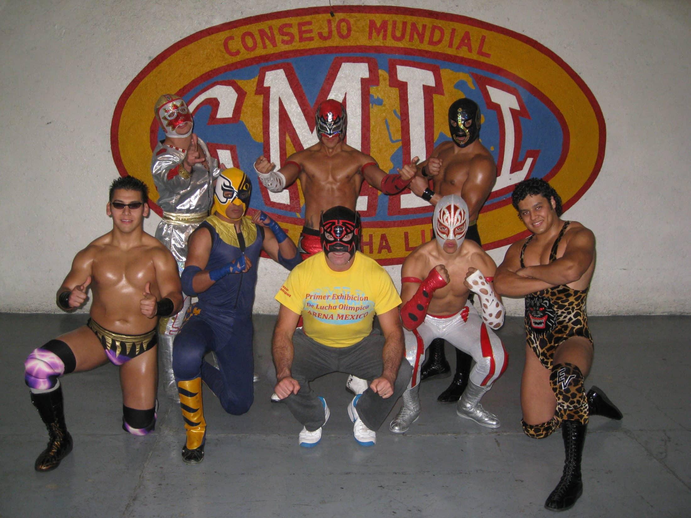 """Estos son los integrantes de la """"Generación 2011 del CMLL"""" 17"""
