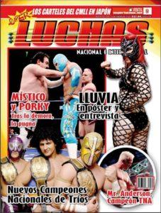 Revista Súper Luchas 397 (Desde el lunes 17 de Enero 2011) Análisis y cobertura de TNA Genesis 2011 - Nuevos Campeones de Tríos - Entrevista a Lluvia 3