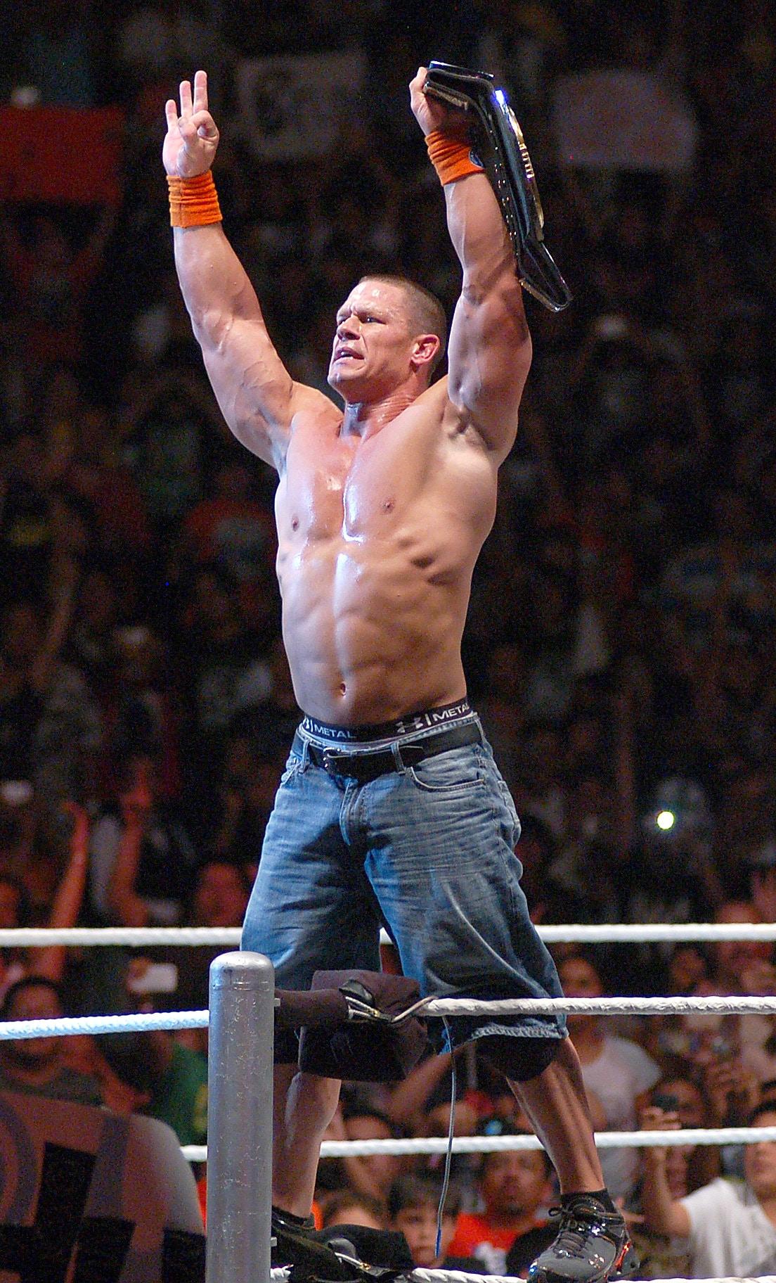 John Cena en México / Imagen cortesía de OCESA en exclusiva para Súper Luchas