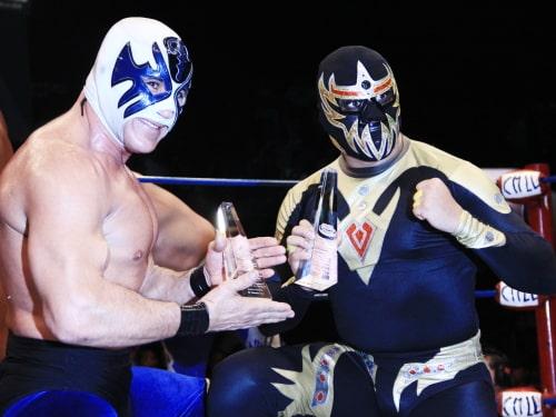 ¡Viva Jalisco! Atlantis y Máscara Dorada bicampeones del torneo nacional de Parejas increíbles 1