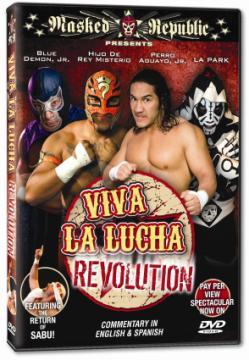 Exclusiva: Listo el lanzamiento de DVDs de Masked Republic  1