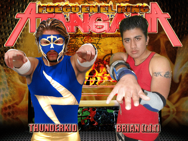Brian (t.f.t.) VS Thunder Kid