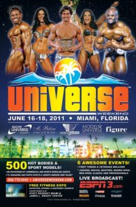 Nikki Roxx en Universe Weekend 10