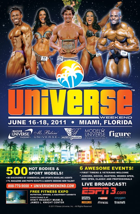 Nikki Roxx en Universe Weekend 1