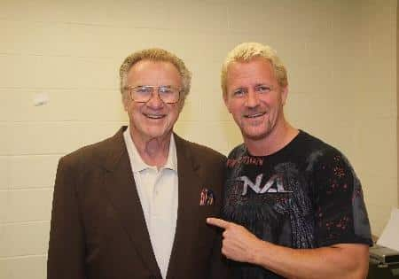 Impact! Wrestling con Hall of Famers. 2