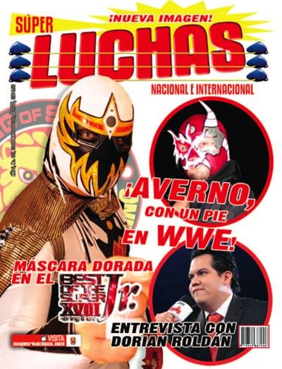 Revista Súper Luchas 415 (Desde el lunes 30 de mayo 2011) - Averno a WWE - Entrevista a Dorian Roldan sobre la alianza AAA-TNA 1