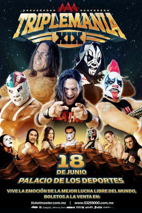 AAA TripleManía XIX (Cobertura y resultados 18 de junio de 2011) - Mesias pierde la cabellera, Jeff Jarrett nuevo Megacampeón, Dr. Wagner vence a RVD 1