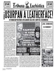 Tribuna Luchística - Revista Súper Luchas #418