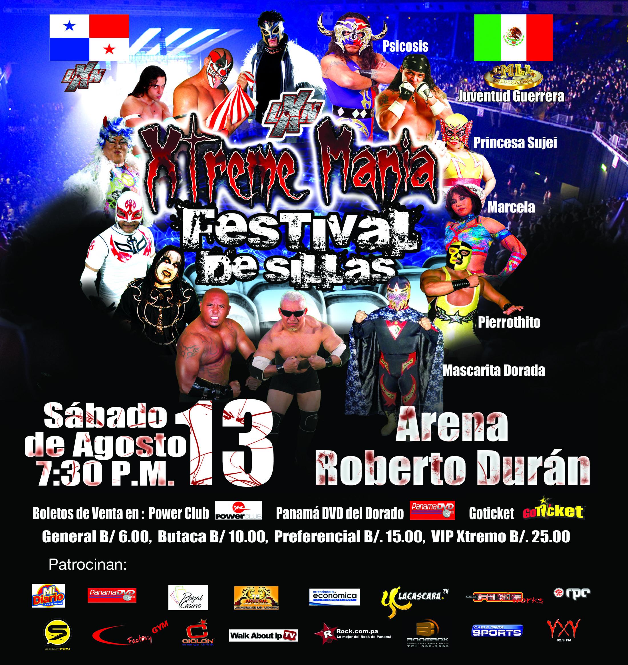 LXN Presenta Xtremania Festival de Sillas 2011