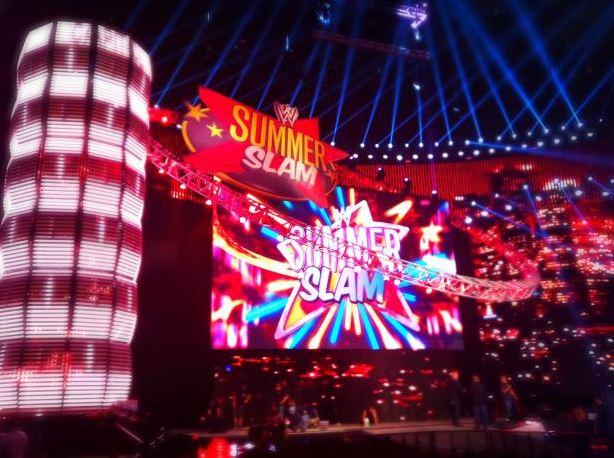Escenario de WWE SummerSlam 2011
