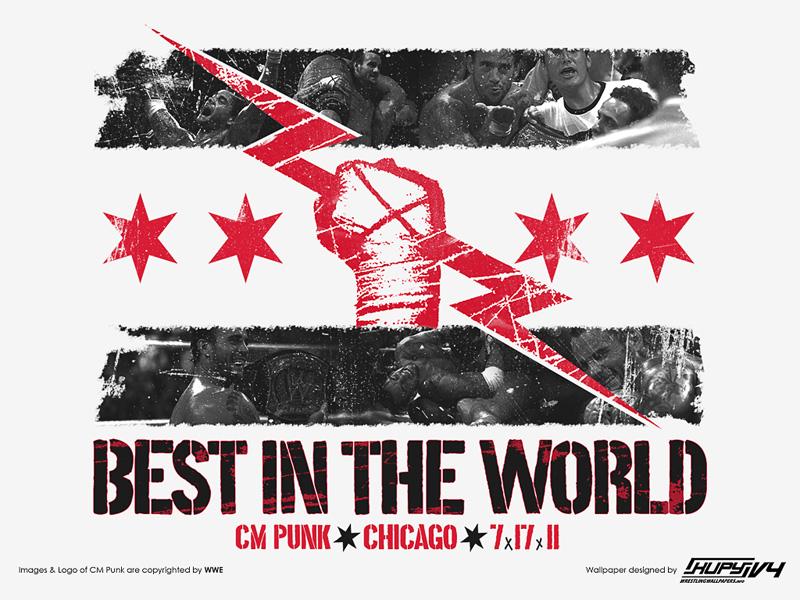 Wallpaper Cm Punk Best In The World Superluchas