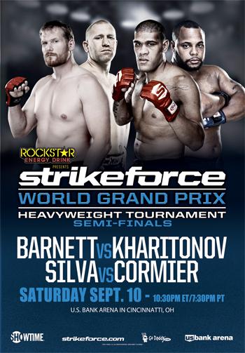 Strikeforce World Grand Prix: Barnett vs. Kharitonov