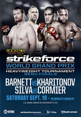 Strikeforce World GP Semi-Finals: Barnett vs. Kharitonov (Cobertura y Resultados 10 de septiembre de 2011) - ¡Cormier y Barnett son los finalistas del Strikeforce Heavyweights GP! 1