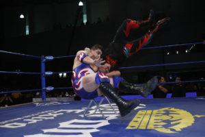 Joe Lider vs MaxXx Viper -foto cortesía de AAA-