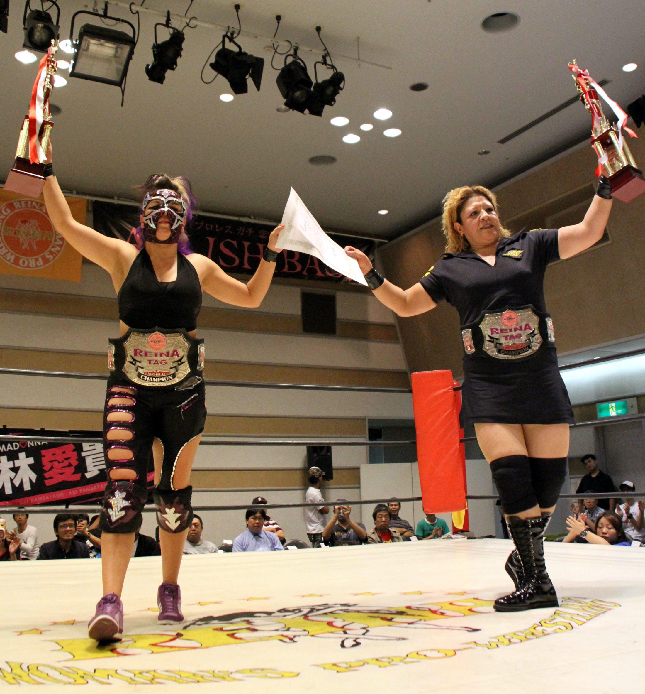 La Comandante y Zeuxis vencieron a Nicole Matthews y Portia Perez y se coronan campeonas en Japóm 1