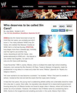 WWE pone en evidencia al CMLL publicando la antigua rivalidad de Místico vs Mystico de Juárez 1