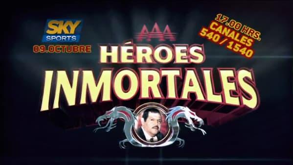 Héroes Inmortales en PPV por SKY canales 540 y 1540 1