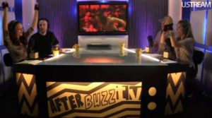 """""""Show Post-RAW"""" conducido por la exDiva de la WWE María Kanellis, la exAnunciadora de WWE Lilian García, el ExEscrtior de la empresa Dave Lagana y Preston Gómez / AfterBuzzTV.com"""