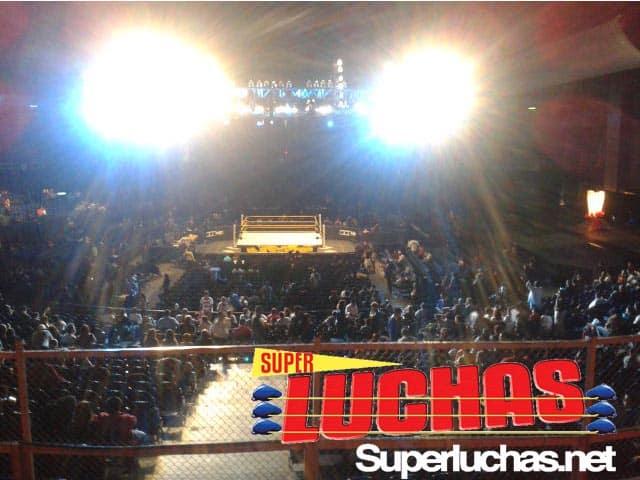 Escenario de las grabaciones de NXT en el Palacio de los Deportes (16.10.11) / Image by: Marco