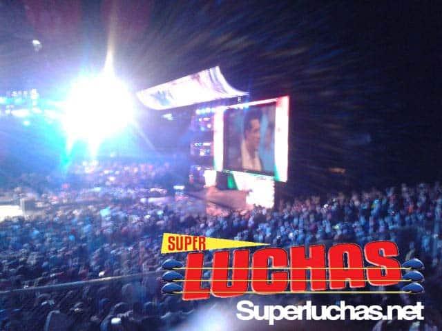 Alberto del Río en SmackDown desde el Palacio de los Deportes / Image by Mario Camacho