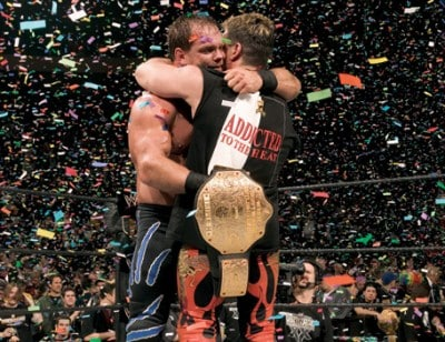 Eddie Guerrero a Chris Benoit
