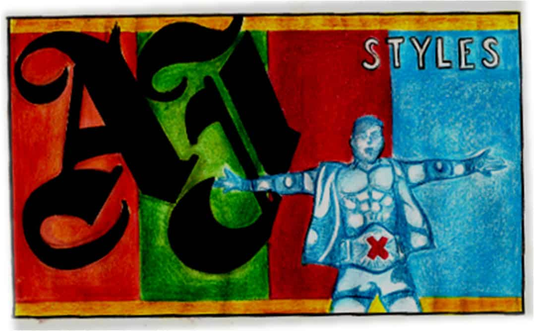 A.J. Styles / Imagen por Xavier Avilés