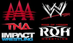 AAA, WWE, TNA - iMPACT! Wrestling y ROH - Ring of Honor