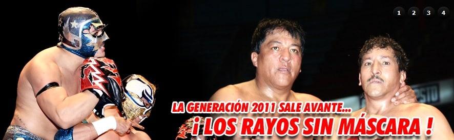 Imagen: Hombre Bala Jr. y Súper Halcón Jr. destapan a Los Rayos Tapatíos I y II 4