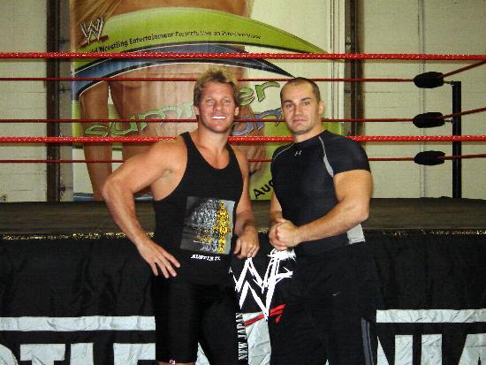 Chris Jericho & Lance Stom 2007 - academy.stormwrestling.com