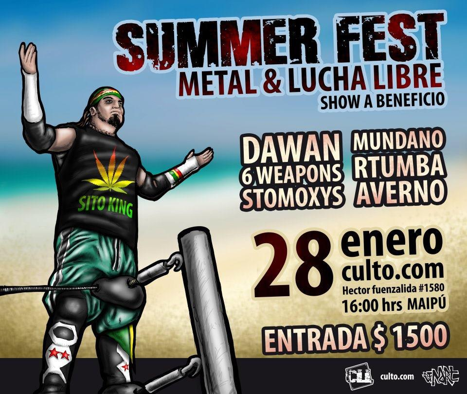 CLL - Chile: The Ultimate Summer Wrestling and Metal Show 1
