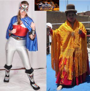 Lady Star (AWF) vs Cholita Wrestling Beatriz - Super Catch Bolivia