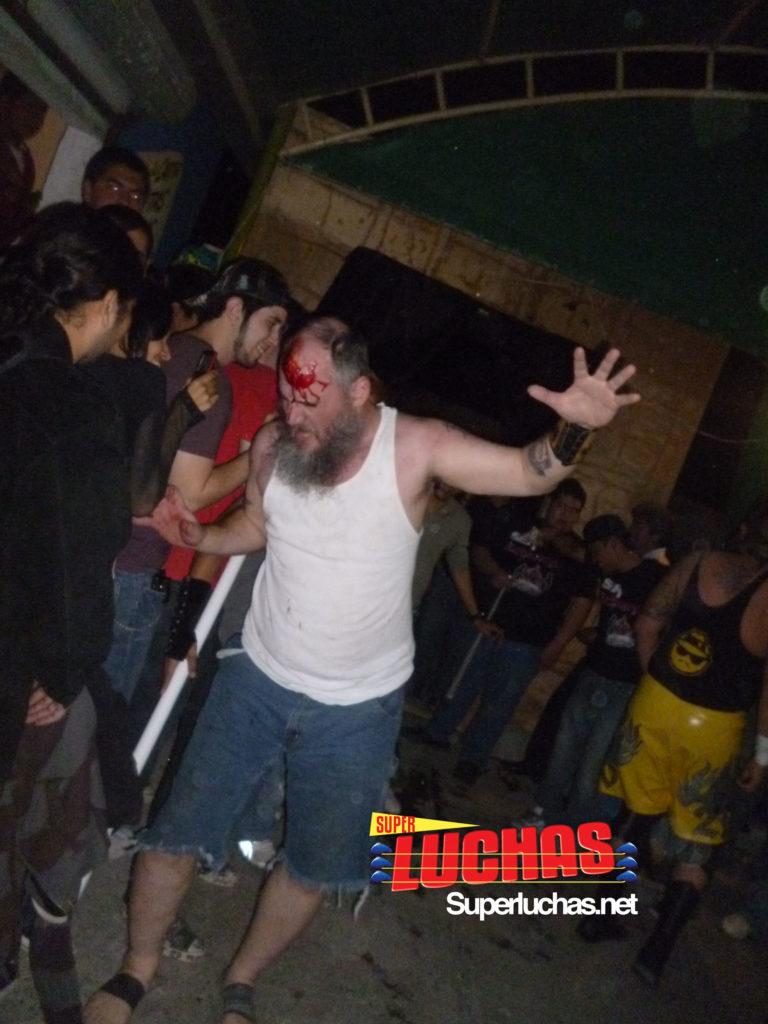 Necro Butcher en Reynosa, México / Imagen por: Caleb Calera