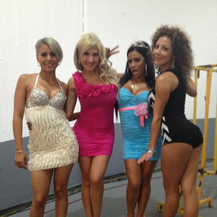 Las Reinas del Ring AAA saludan a Zapopan, previo a Rey de Reyes 2012 3