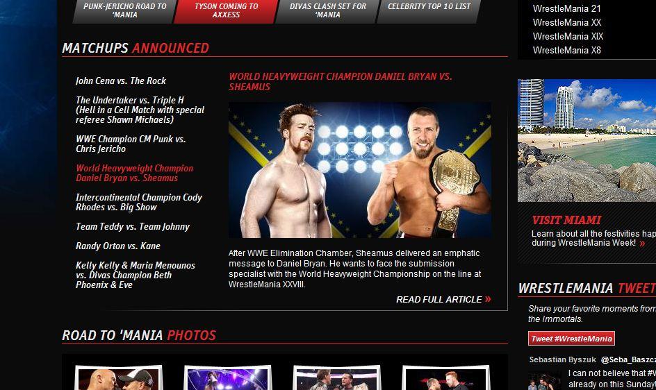 Daniel Bryan vs Sheamus - WWE.com