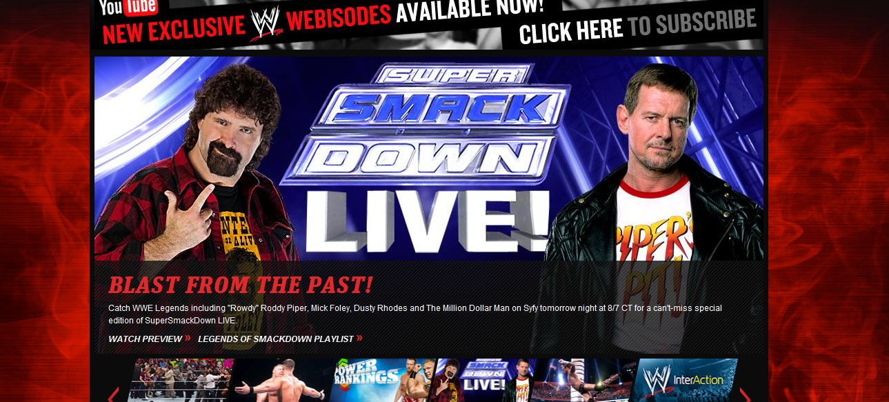 WWE Super SmackDown live Blast From The Past - WWE.com